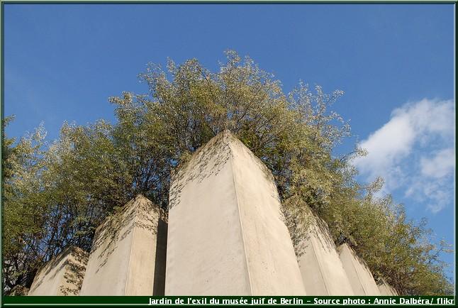 jardin de l'exil musée juif de berlin