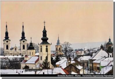 Sremski Karlovci clochers