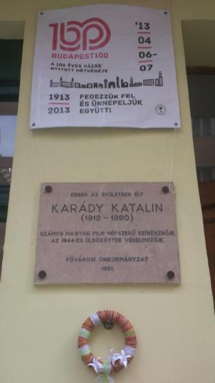 budapest 100 karady katalin