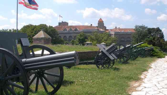 canons du musée militaire de Kalemegdan