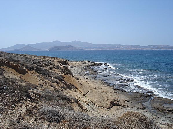 cyclades plage agia anna