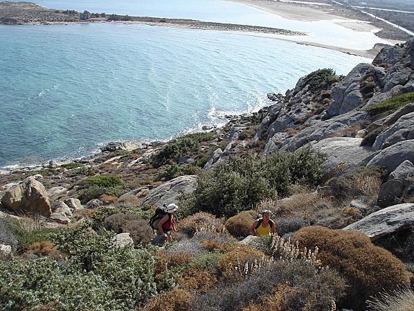 cyclades naxos randonnee en bord de mer