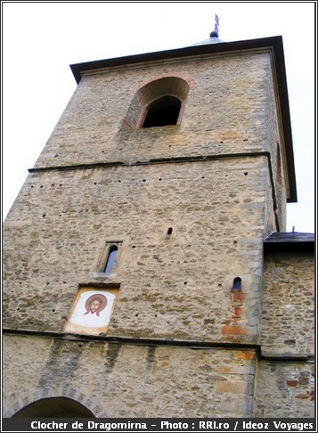 dragomirna monastere roumanie clocher