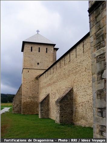 dragomirna monastere roumanie fortifications
