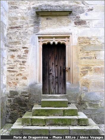 dragomirna monastere roumanie porte bois