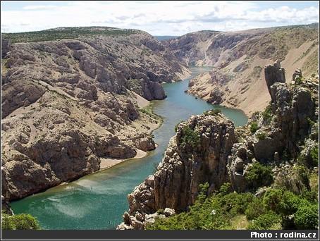 canyon zrmanija croatie