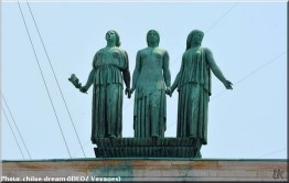 belgrade statues ambassade de france serbie