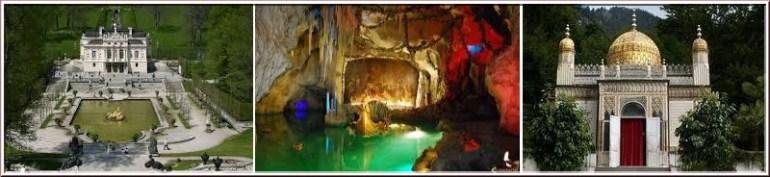 chateau linderhof pavillon mauresque grotte venus
