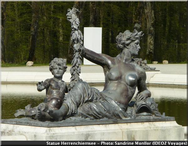 statue herrenchiemsee