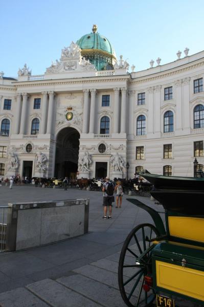 Le palais Hofburg