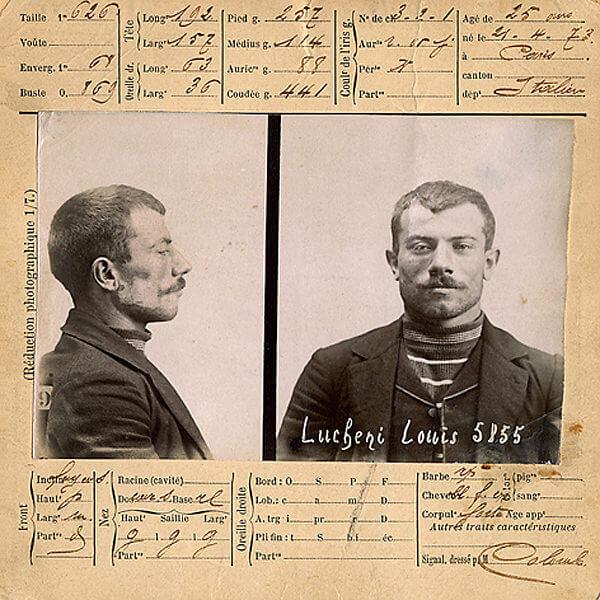 Luigi Luccheni assassin de l'impératrice d'Autriche Elisabeth