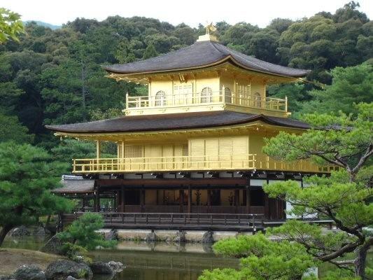 kyoto temple pavillon dor kinkakuji