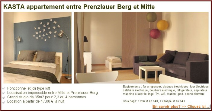 KASTA appartement berlin prenzlauer berg