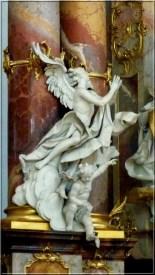 Abbaye Ottobeuren ange suppliant