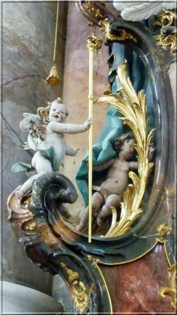Abbaye Ottobeuren angelots