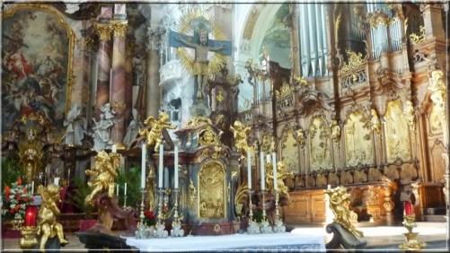 Abbaye Ottobeuren choeur orgue