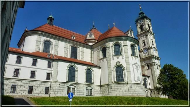 Abbaye Ottobeuren facade arriere