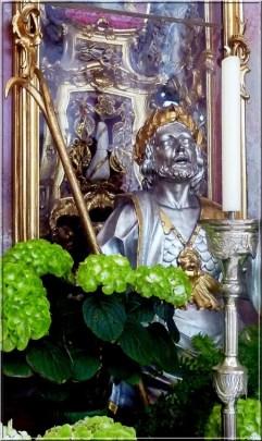 Abbaye Ottobeuren statue