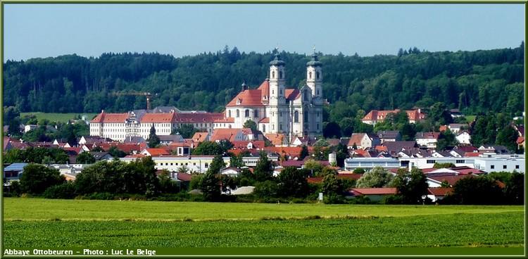 Abbaye Ottobeuren souabe baviere