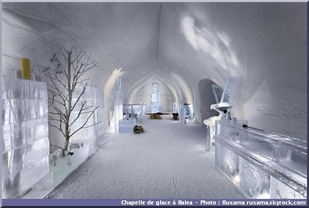 balea chapelle de glace