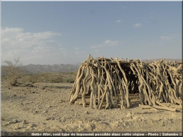 Ethiopie hutte afar