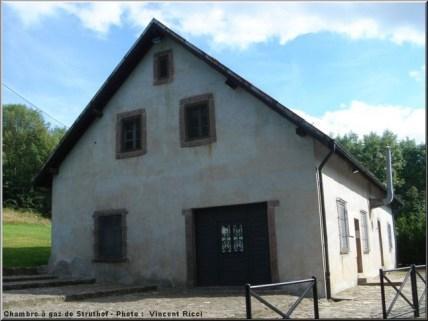 Natzweiler Struthof chambre a gaz camp concentration nazi alsace