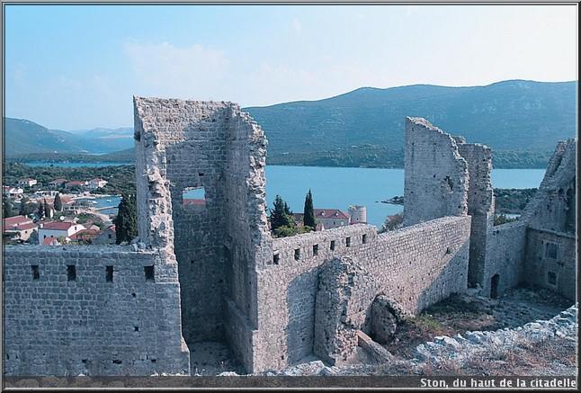 ston citadelle croatie