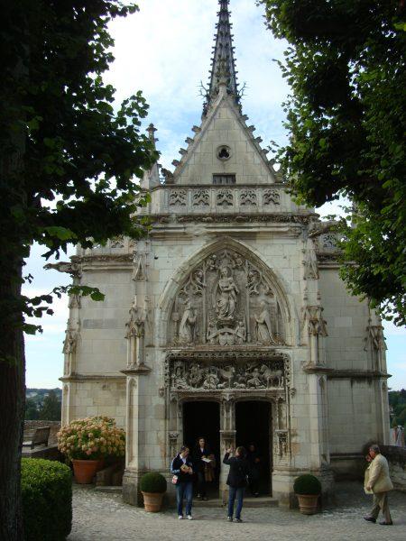 Chapelle où serait enterré Léonard de Vinci