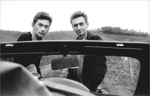 Nicolas Bouvier et Thierry Vernet