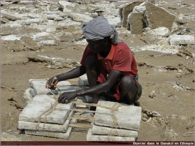 danakil ouvrier en ethiopie