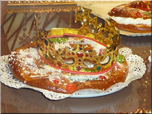 gateau des rois espagnol tortell de los reyes