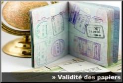 passeport validité