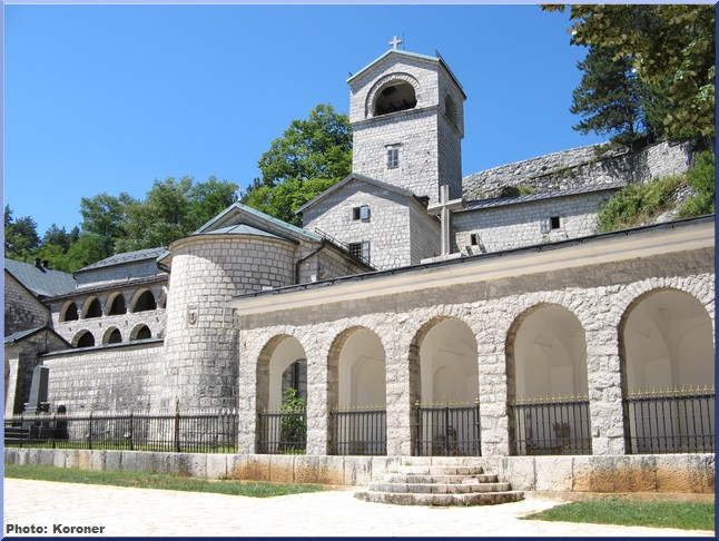 monastere cetinje
