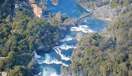 parc national krka rivière