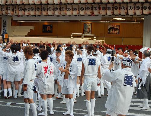 Hanagasa gion matsuri kyoto festival