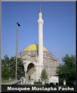 Mosquée-Mustapha-Pasha-Skopje-Macédoine