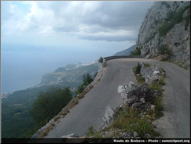 biokovo route croatie