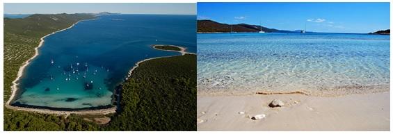 plage saharun ile dugi otok