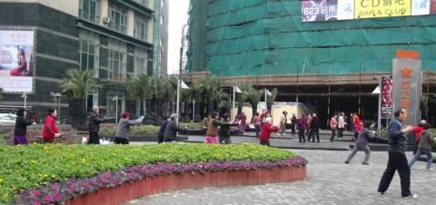 tai chi matinal shanghai
