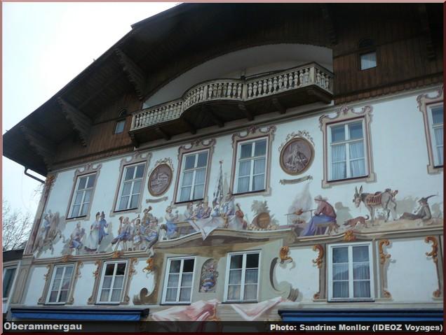 Oberammergau, un beau village typique aux façades peintes en Bavière 2
