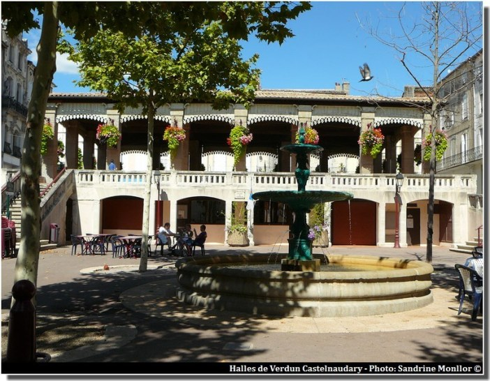 Halles de verdun Castelnaudary