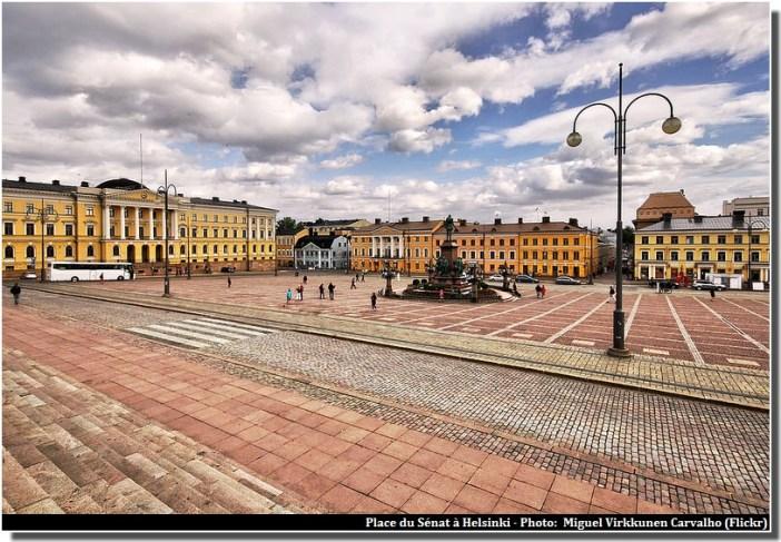 Helsinki place du senat