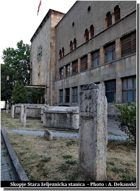 Skopje ancienne gare Stara zeljeznicka stanica