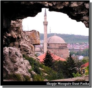 Skopje daut pasha mosquee