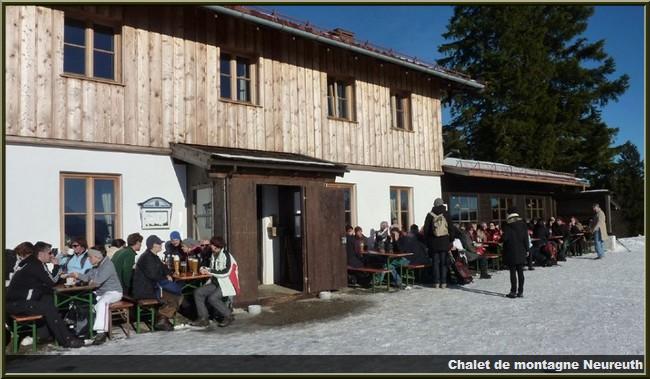 chalet de montagne  neureuth