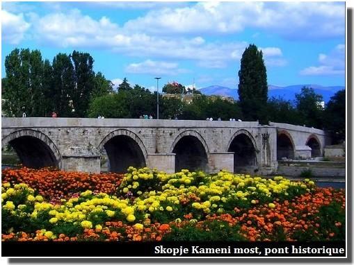 kameni most pont de skopje Macédoine