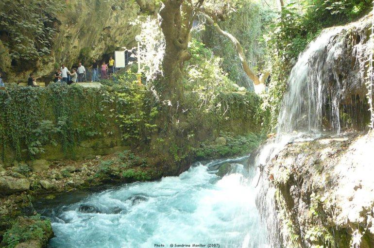 Antalya parc des chutes de Kursunlu