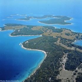 Archipel des Brijuni Istrie