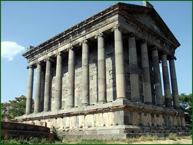 Arménie temple hellenistique de Garni