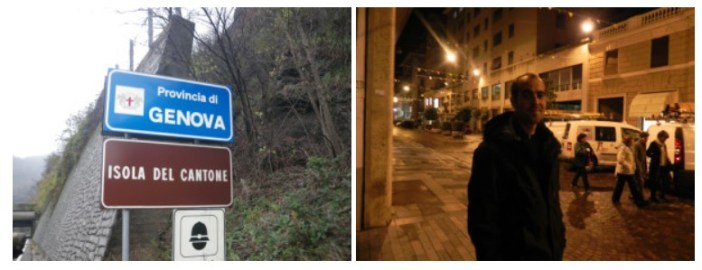 Arrivée à Genova